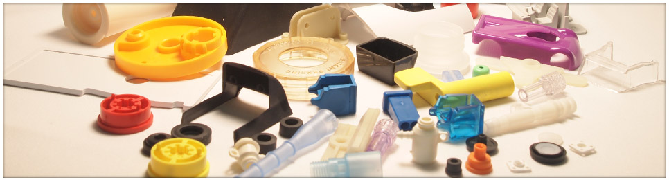 variety of plastic molded small parts