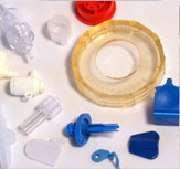 various other plastic parts